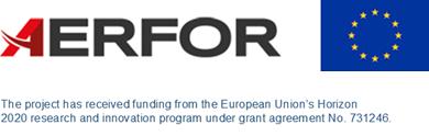 AERFOR Logo with EU Logo for Horizon2020