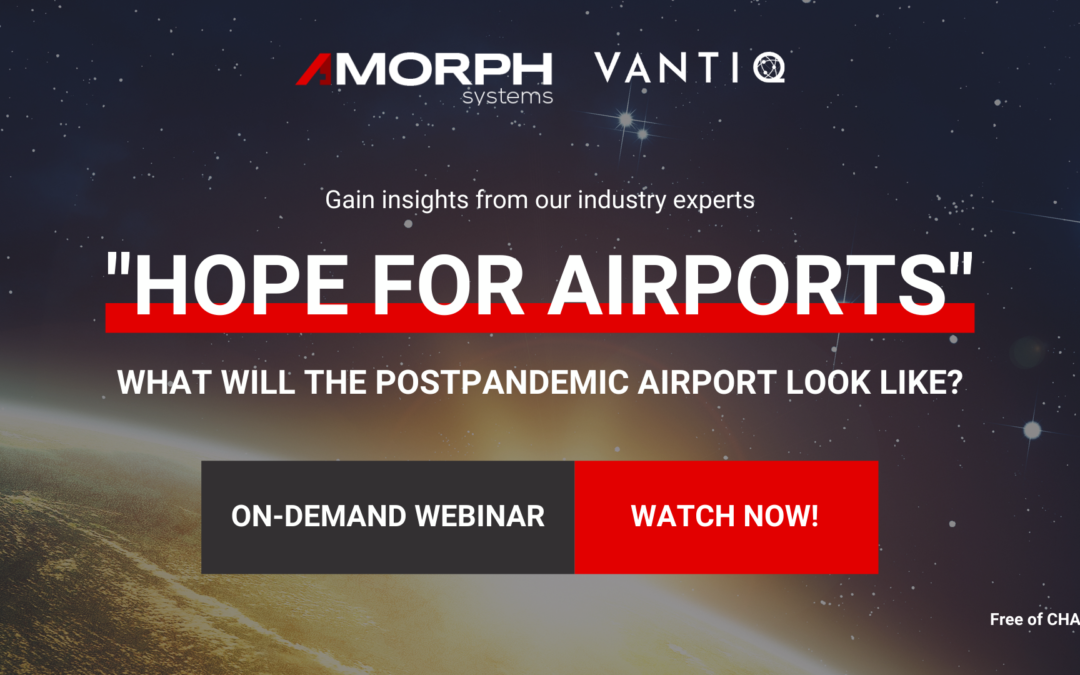 """WATCH OUR WEBINAR """"HOPE FOR AIRPORTS"""""""